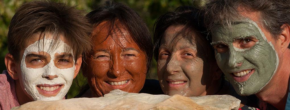 Un color de arcilla por cada tipo de piel