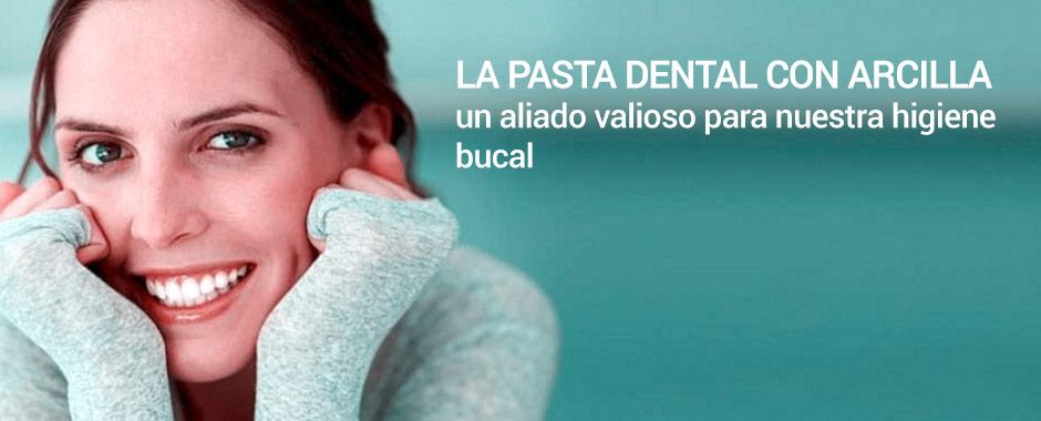Los beneficios de utilizar pasta dental con arcilla