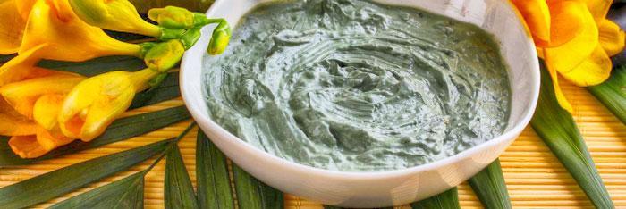 Tratamiento de las hemorroides con arcilla verde