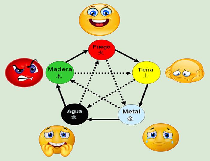 las 5 emociones en la medicina oriental