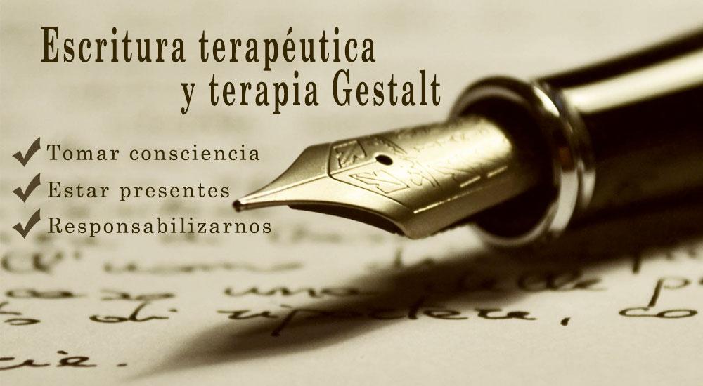 La escritura terapéutica y la terapia gestalt
