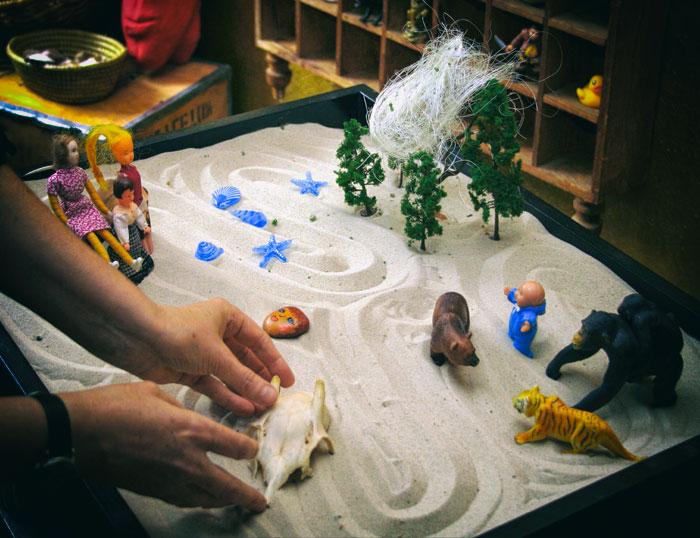 Caja de Arena - técnica de terapia infantil