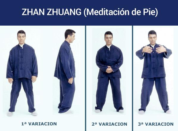 Zhan Zhuang Gong o meditación de pié