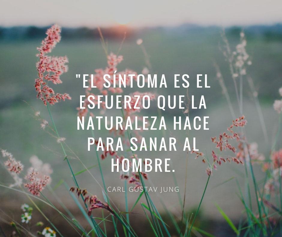 El síntoma es el esfuerzo que la Naturaleza hace para sanar al hombre