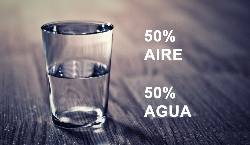 ¿Cómo ves el vaso? ¿Medio lleno o medio vacío? - La nueva visión