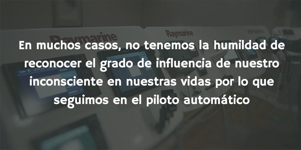 Pensamientos automáticos - piloto automático
