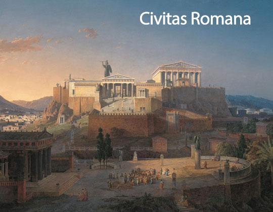 En la Civitas Romana aparentemente se vivía más cómodamente que en la naturaleza y la tribu