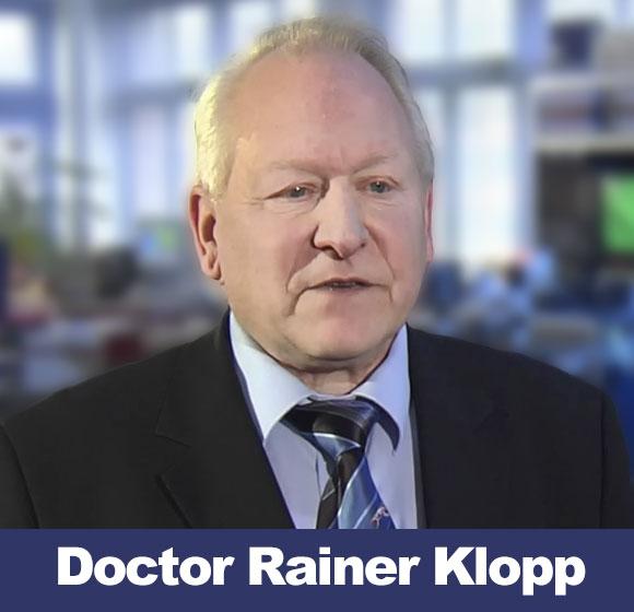 Doctor Rainer Klopp, director del Instituto de Microcirculación de Berlín
