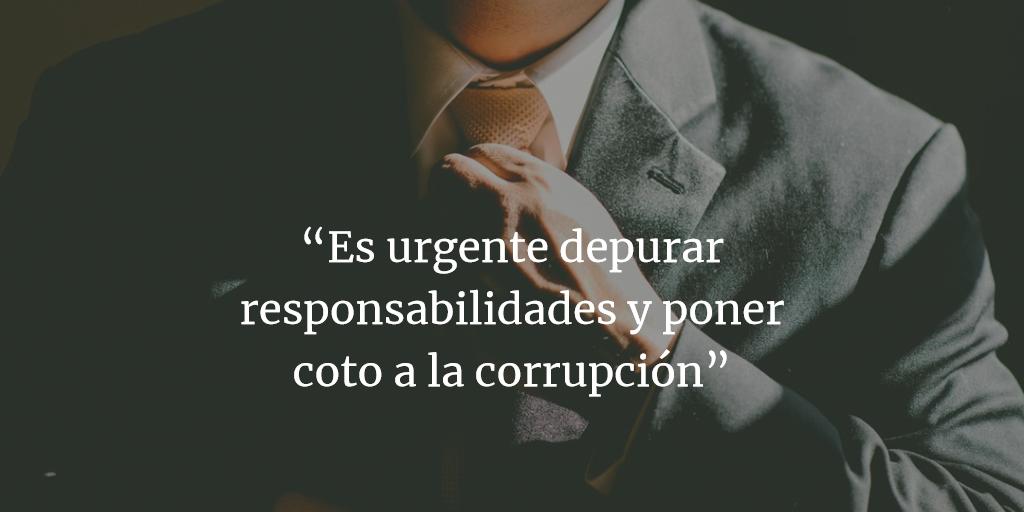 Es urgente una higienizacion democrática para parar la corrupción