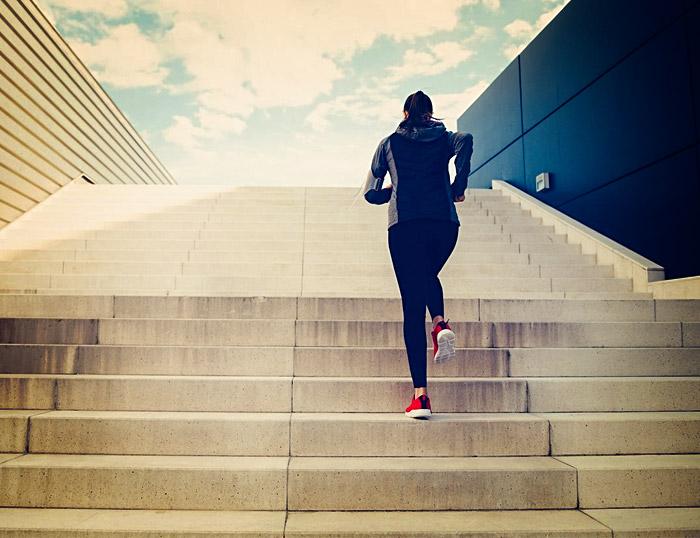 Emociones y ejercicio: ¿escaleras?