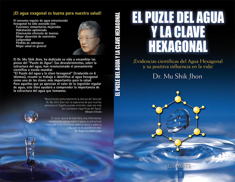 Capa del libro: El puzle del agua y la clave hexagonal