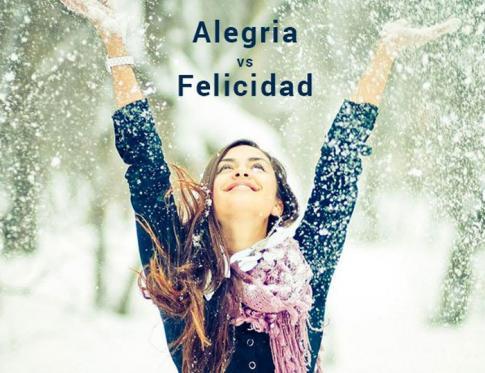 ¿Alegría es sinónimo de felicidad?