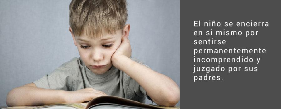 Poca comunicación entre padres y hijos