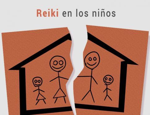 terapia reiki en la separación de los padres