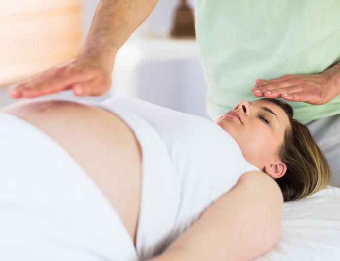 Reiki y embarazo