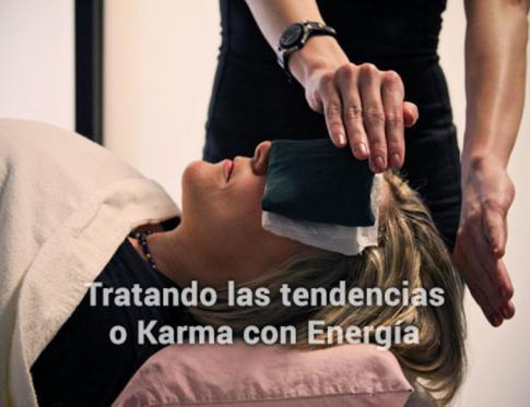 Tratando las tendencias o karma con energia