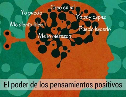 El poder de los pensamientos positivos