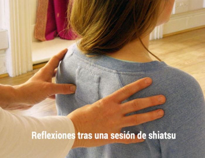 Shiatsu: reflexiones tras una sesión de shiatsu