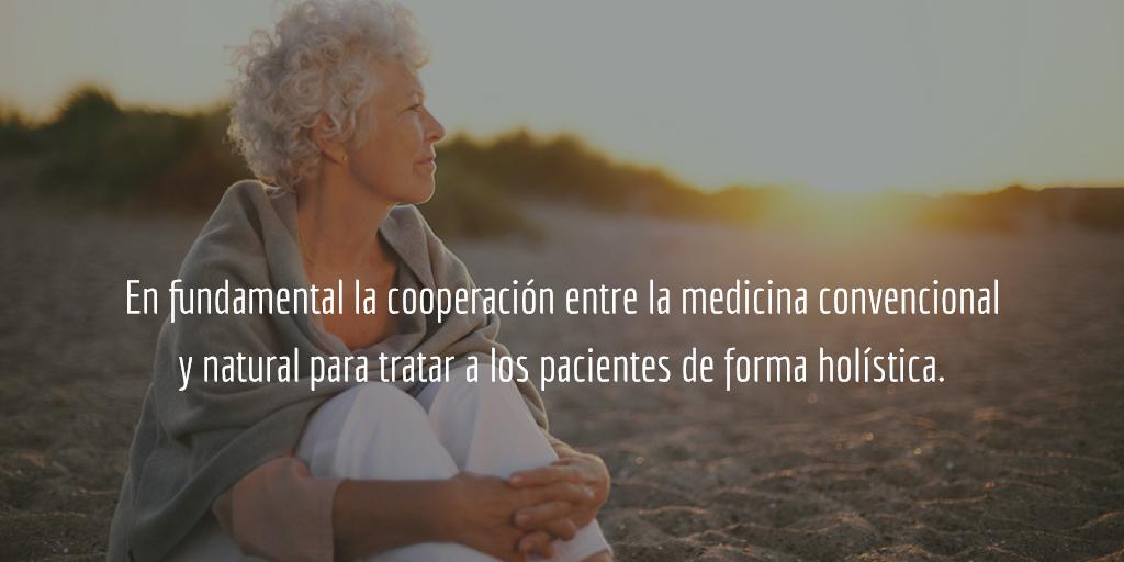 Es fundamental para tratar los enfermos de fibromialgia la cooperación entre la medicina convencional y la natural