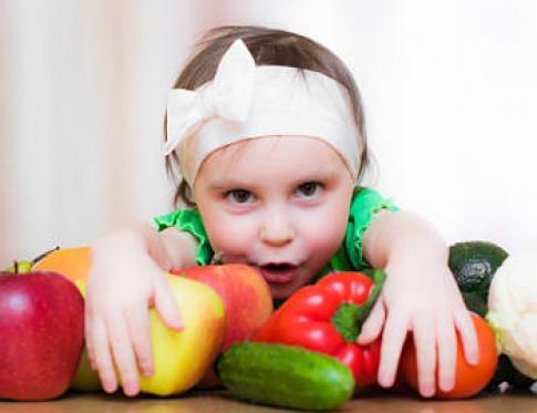 Alimentacion saludable en ninos
