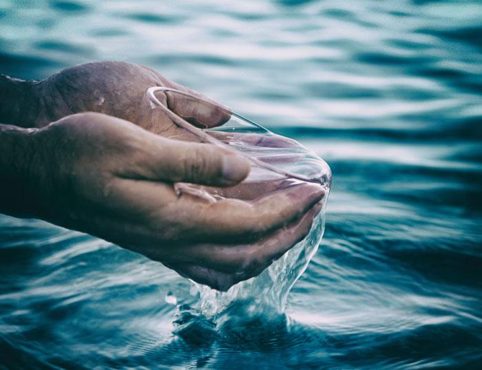 Agua de mar como terapia