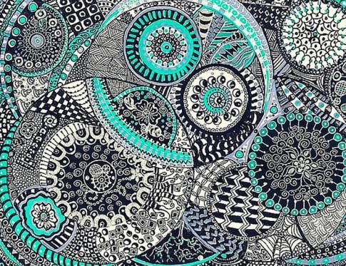 Aprende cómo dibujar Zentangle