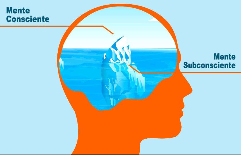 Información en la mente consciente y la mente subconsciente