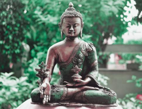 La medicina budista