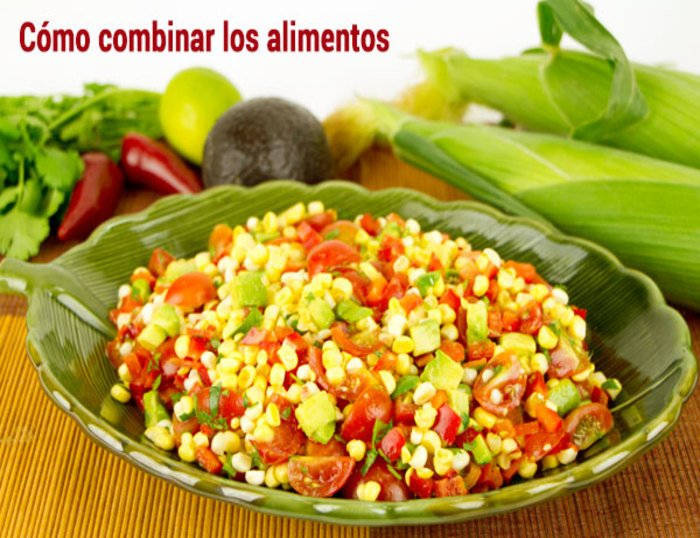 Con combinar cereales legumbres