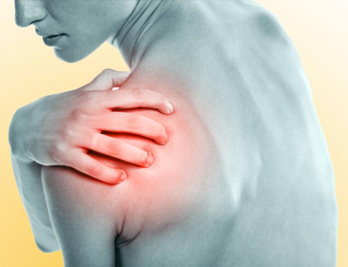 El hombro y su relación con el estómago