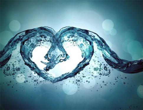 El agua está viva