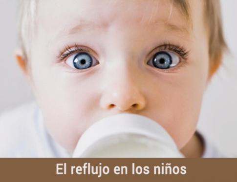 ¿Qué hacer si tu niño tiene reflujo?