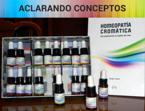 Conceptos de la Homeopatía Cromática