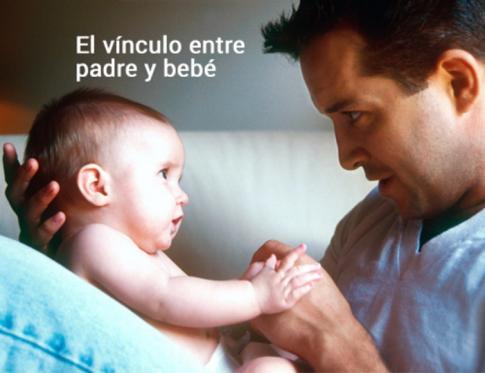 El vínculo entre padre y bebé