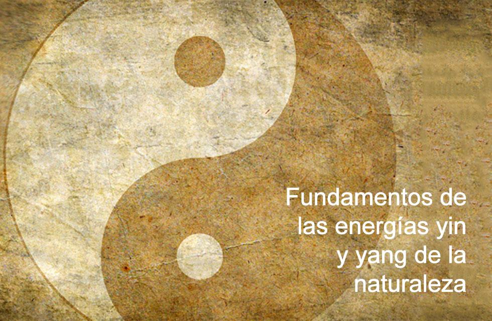 Relación entre la energía vital del hombre y la naturaleza. Establece los fundamentos de las energías yin y yang de la naturaleza