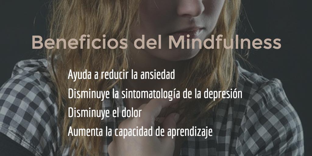 Cuales son los beneficios de practicar mindfulness