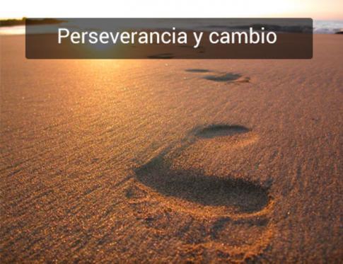 Perseverancia y cambio