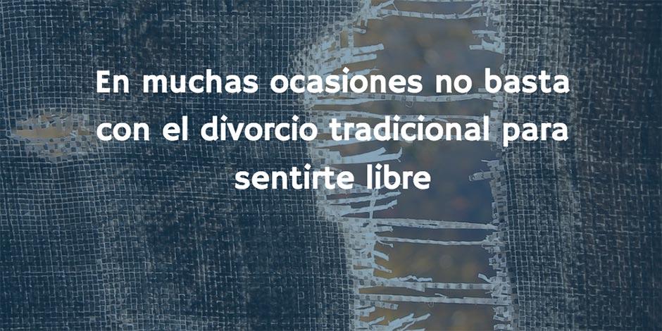 Libertad vs. divorcio tradicional