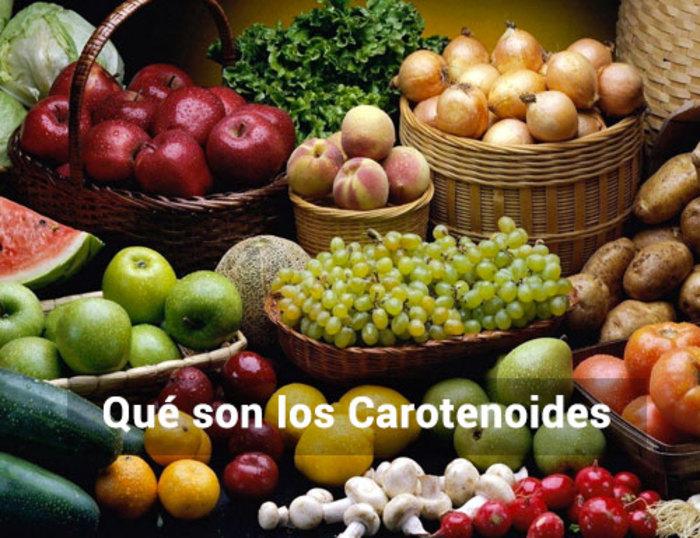 ¿Qué son los Carotenoides?