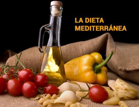 Dieta mediterránea y sus beneficios