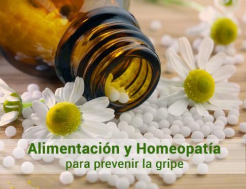 La alimentación y la homeopatía contra la gripe