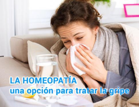 La Homeopatía, una opción para tratar la gripe