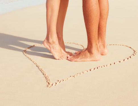 Masajes en los pies especialmente para parejas