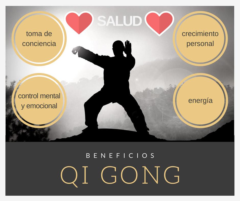 Los beneficios de practicar qigong