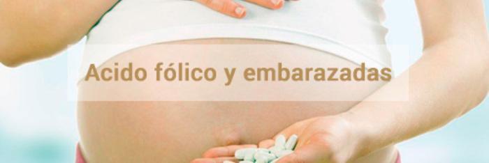 Ácido fólico y embarazadas