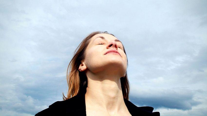 A través de la respiracion se repone la energía Wei Qi defensiva