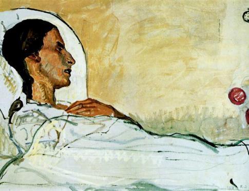 Qué es la enfermedad - cuadro Dying Patient: The Ferdinand Hodler Paintings of Valentine Godé-Darel