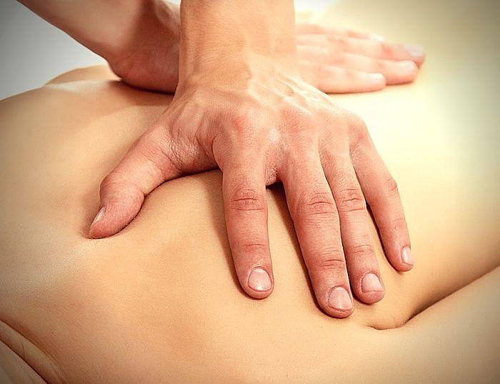 La reflexología de espalda