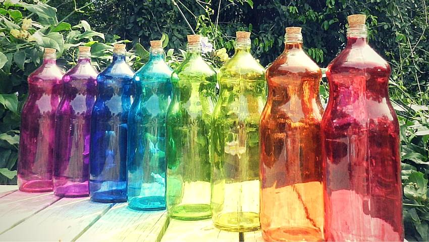 Diferentes tipos de agua solarizada