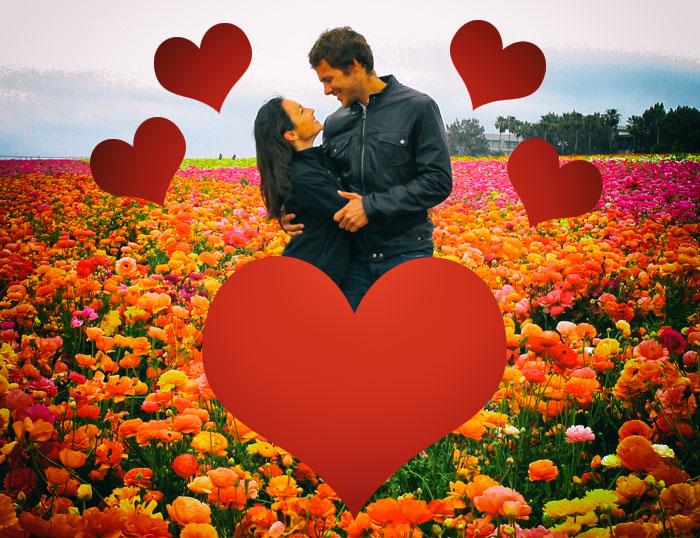 Beneficios de la terapia floral dentro de la pareja y en la cama - pareja con una actitud de cariño